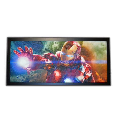 Topný obraz - Iron Man -  250W - 830 x 380 mm