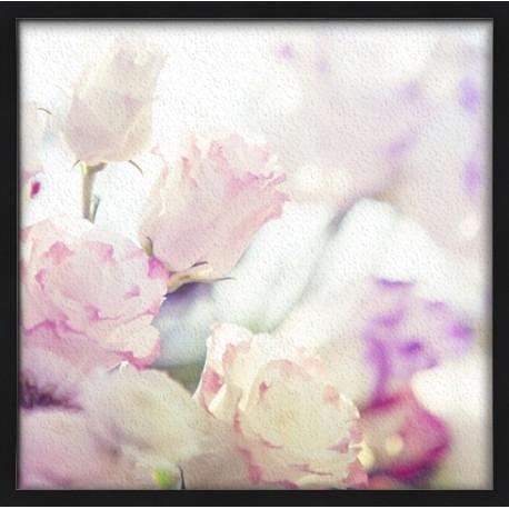 Topný obraz - Růžově květy