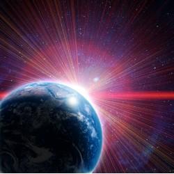Topný obraz - Rozbřesk na planetě Zemi