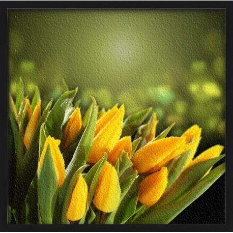 Topný obraz - Žluté tulipány