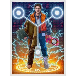 Topný obraz - Back To The Future Marty McFly -  180W - 580 x 380 mm