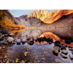 Topný obraz - Podzimní jezero