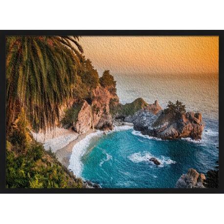 Topný obraz - Kalifornie