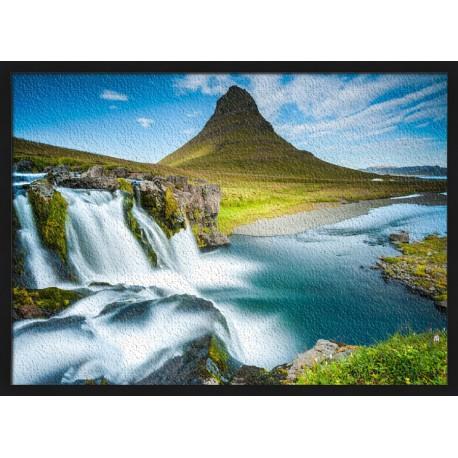 Topný obraz - Island