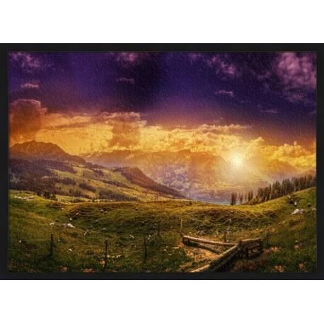 Topný obraz - Švýcarsko