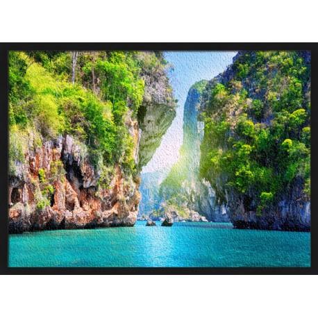 Topný obraz - Laguna