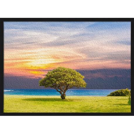 Topný obraz - Osamělý strom