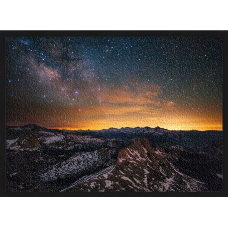 Topný obraz - Hvězdná obloha