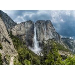 Topný obraz - Yosemitský vodopád