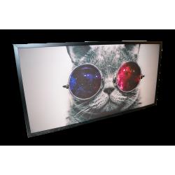 Topný obraz - Kočičí guru - 720W - 1230 x 630 mm