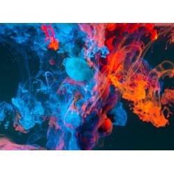 Topný obraz - Barevný kouř