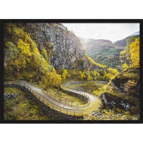 Topný obraz - Horská silnice