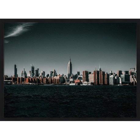 Topný obraz - Panorama New Yorku