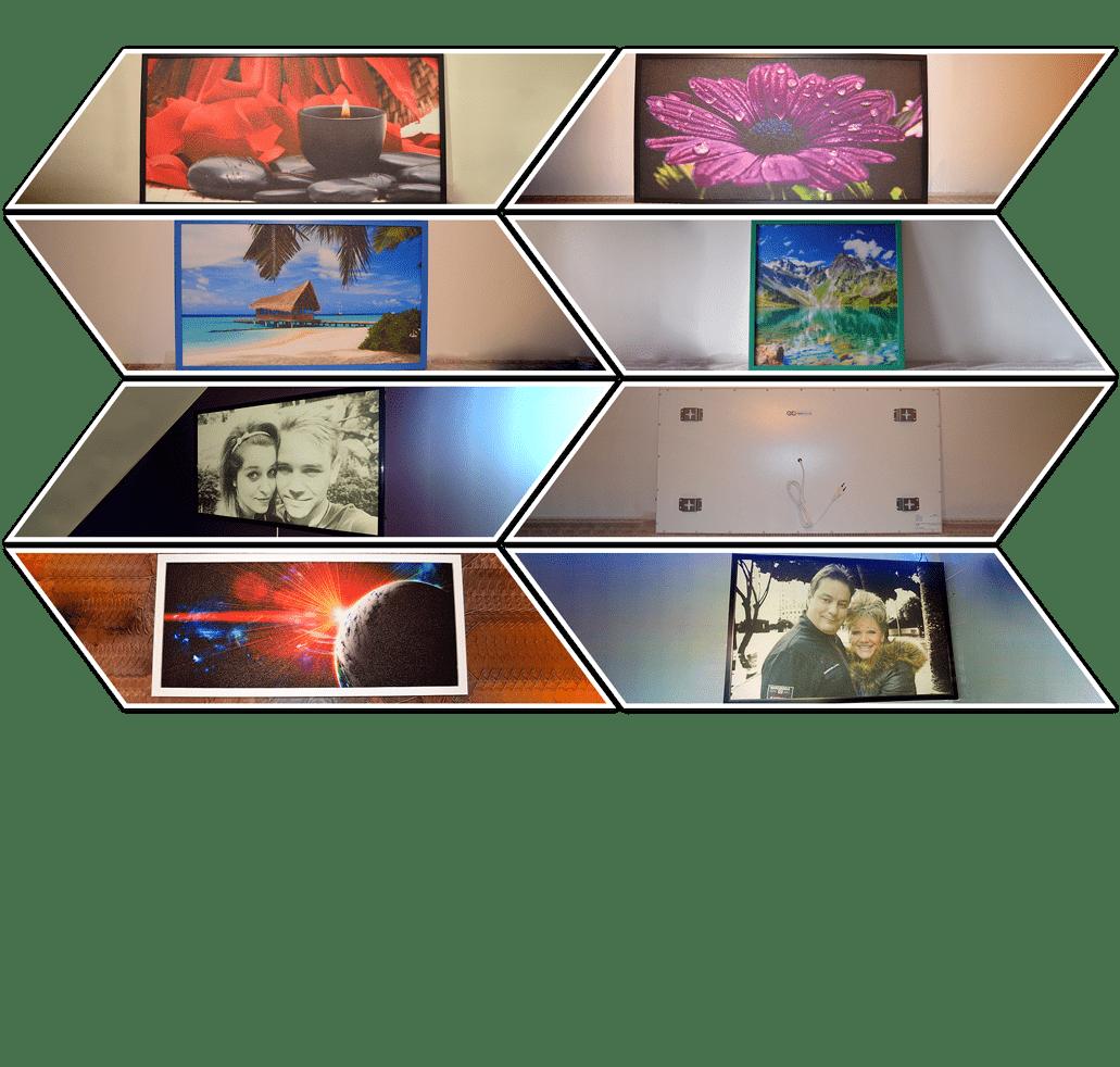 Infrapanely a topné obrazy
