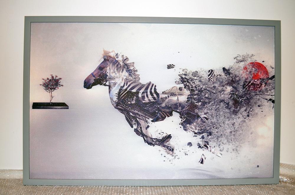540W - Infrapanel Abstraktní zebra