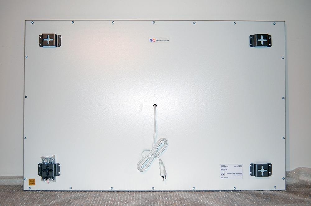 540W - Infrapanel Abstraktní zebra - zadní strana