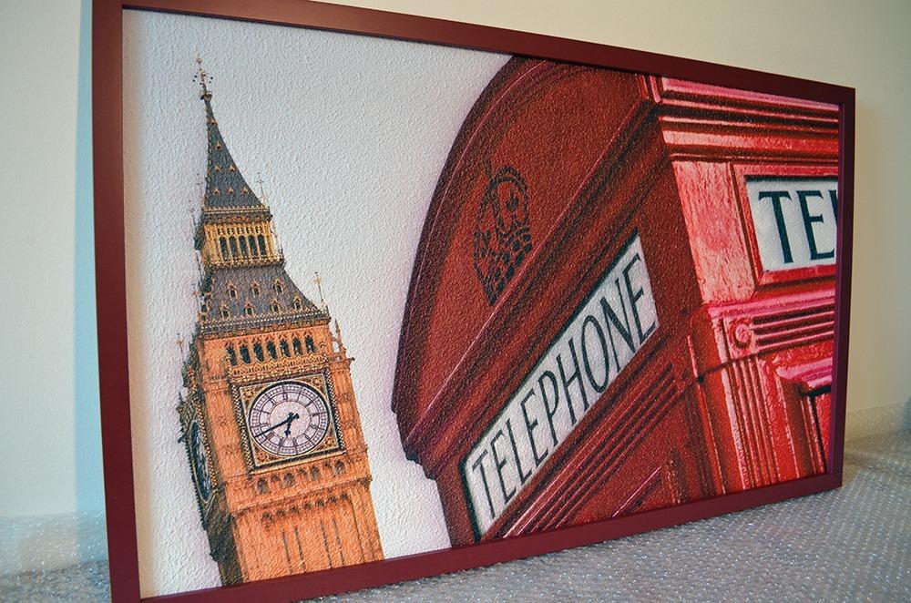 Topný obraz 180W - Big Ben a telefonní budka