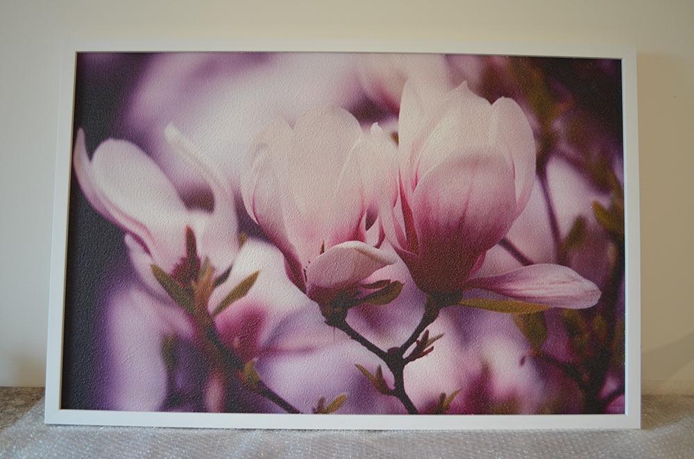 360W - Infrapanel fialové květy