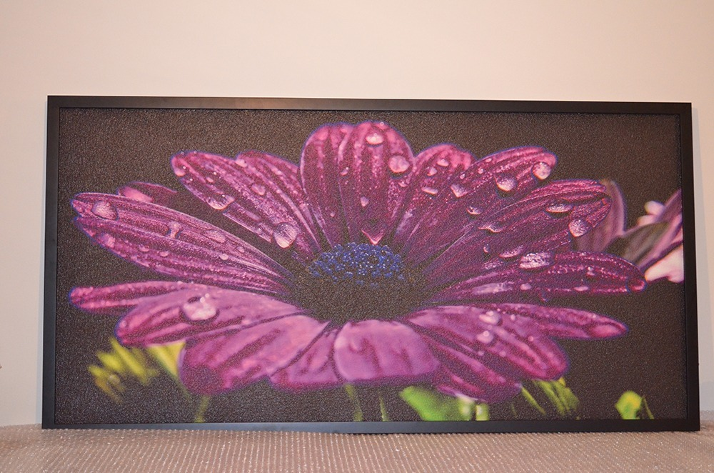 720W - Infrapanel fialový květ