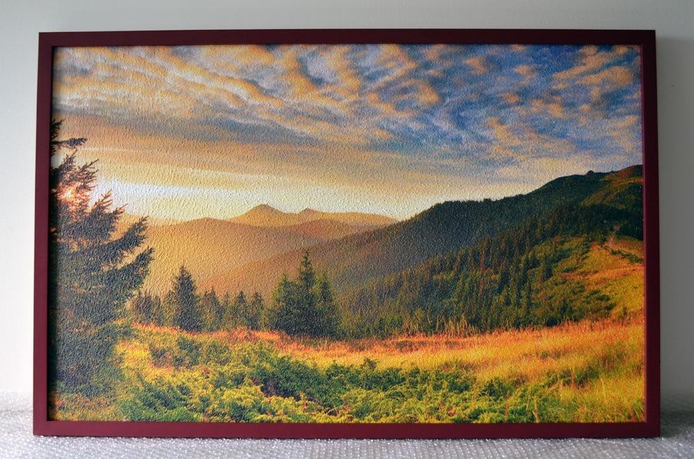 Topný obraz 540W - Horské údolí
